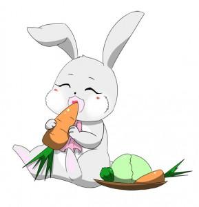 野菜だいすきうさちゃん