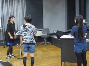 卒業公演夏稽古